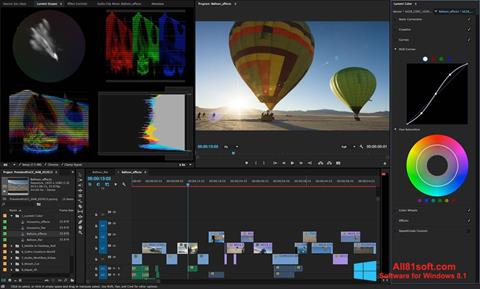 Skjermbilde Adobe Premiere Pro Windows 8.1