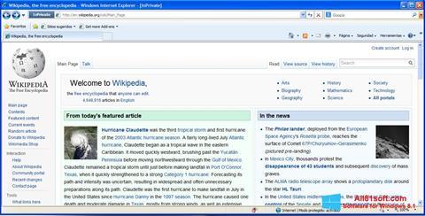 Skjermbilde Internet Explorer Windows 8.1