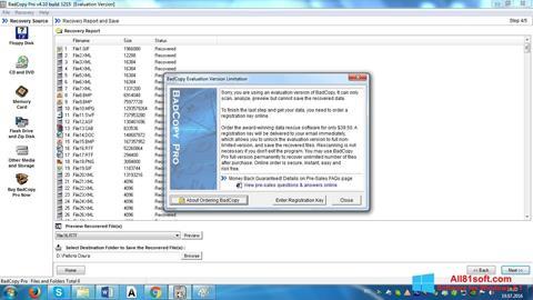 Skjermbilde BadCopy Pro Windows 8.1