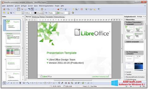 Skjermbilde LibreOffice Windows 8.1