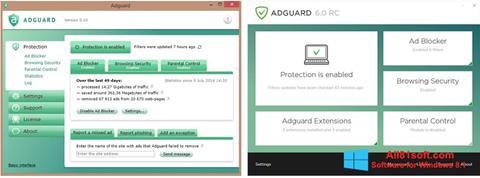 Skjermbilde Adguard Windows 8.1