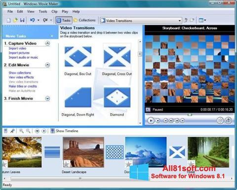 Skjermbilde Windows Movie Maker Windows 8.1