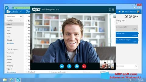 Skjermbilde Skype Windows 8.1